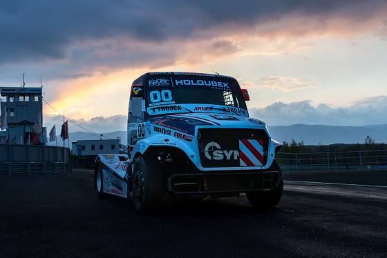 FIA European Truck Racing Championship 2017 Testfahrten Most